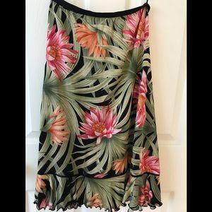 100% Silk Tommy Bahama Skirt Size XS
